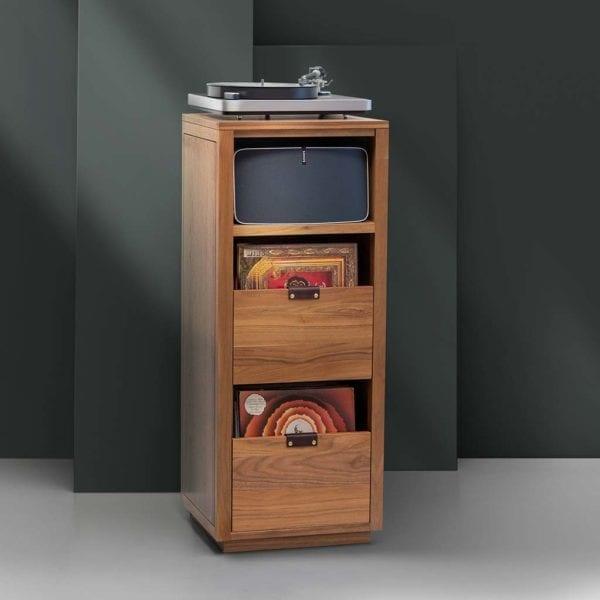 Dovetail Sonos Turntable Storage Cabinet