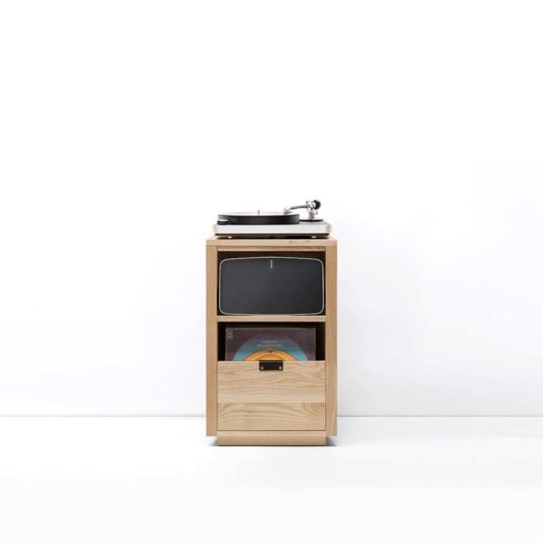 Dovetail Sonos Vinyl Cabinet with Clear Audio