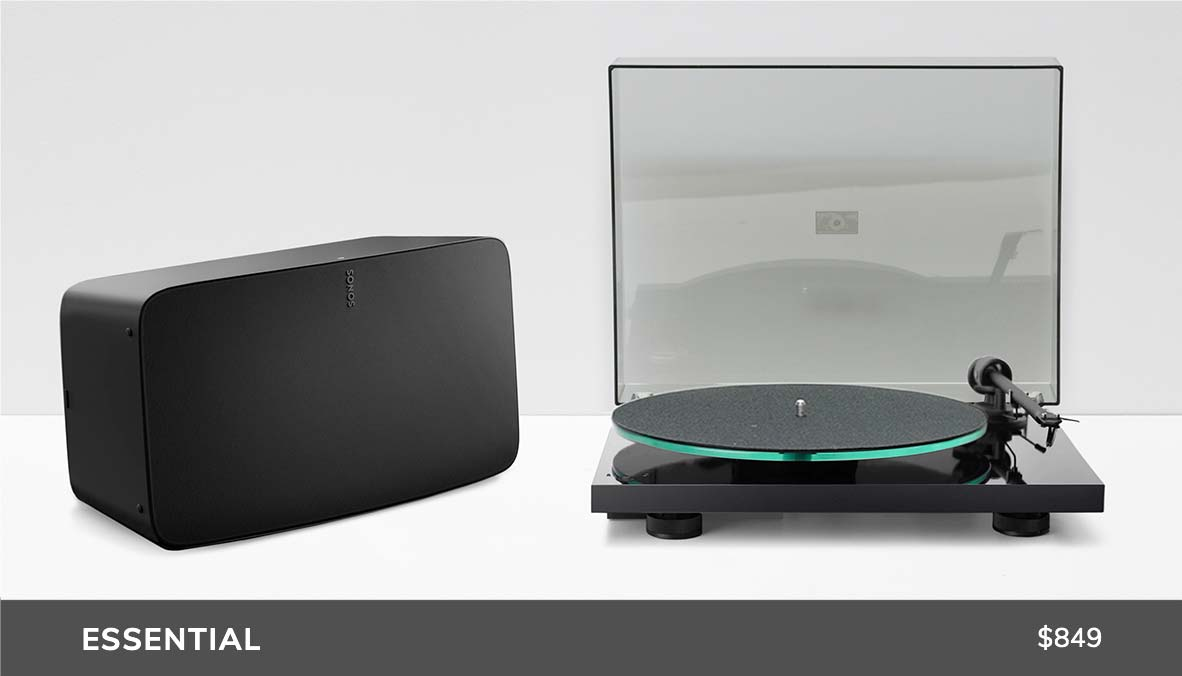 Essential Sonos Turntable Audio Package