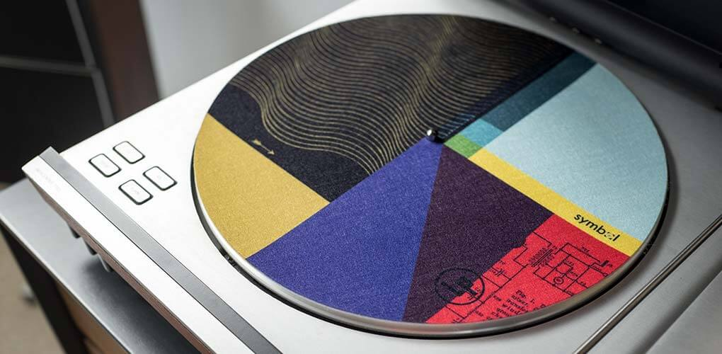 Record Mat on Bang and Olufsen